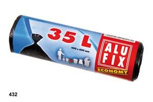 Obrázek Pytle do košů Alufix economy  -  60 x 50 cm / 35 litrů / 30 ks