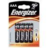 Obrázek Baterie Energizer alkalické  -  baterie mikrotužka AAA / 4 ks