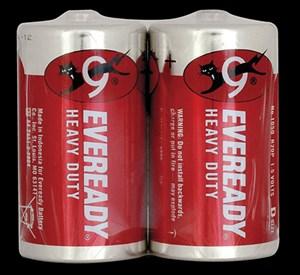 Obrázek Baterie Everedy - baterie mono článek velký / 2 ks