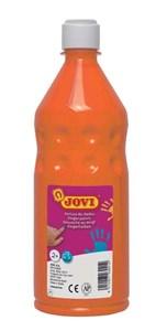 Obrázek Prstové barvy JOVI v láhvi - 750 ml / oranžová
