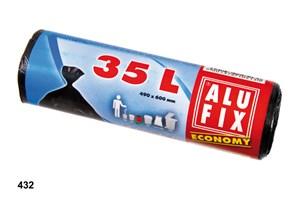 Obrázek Alufix Economy pytle do košů 60x50 cm 35 l 30 ks černé