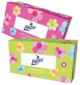 Obrázek Kapesníčky papírové kosmetické - Linteo / dvouvrstvé / 200 ks