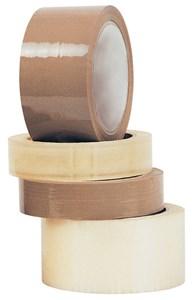 Obrázek Balicí pásky - 25 mm x 66 m / transparentní