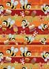 Obrázek Papíry dárkové  -  role 200 cm x 70 cm / dětské motivy