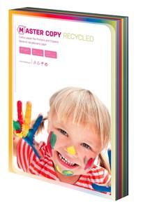 Obrázek Barevné papíry A4 80 g - EKO Master / 100 listů / barevný mix