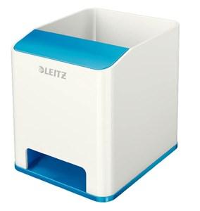 Obrázek Hudební stojánek na psací potřeby Leitz Wow - modro-bílá