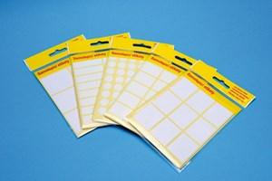Obrázek Samolepicí etikety v sáčku - 55 x 27 mm / 60 etiket