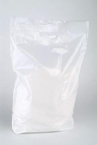 Obrázek Tašky odnosné s uchem 38 x 45 cm bílé s průhmatem