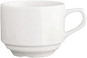 Obrázek Porcelánový šálek s podšálkem - šálek / 185 ml