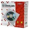 Obrázek Obálky na CD / DVD - 100 ks / bílá / s okénkem