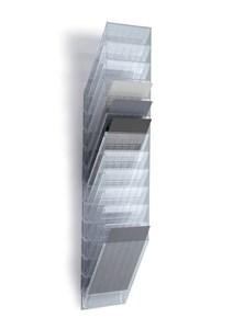 Obrázek Držáky na prospekty Flexiboxx - 12 / A4 čirý / na výšku